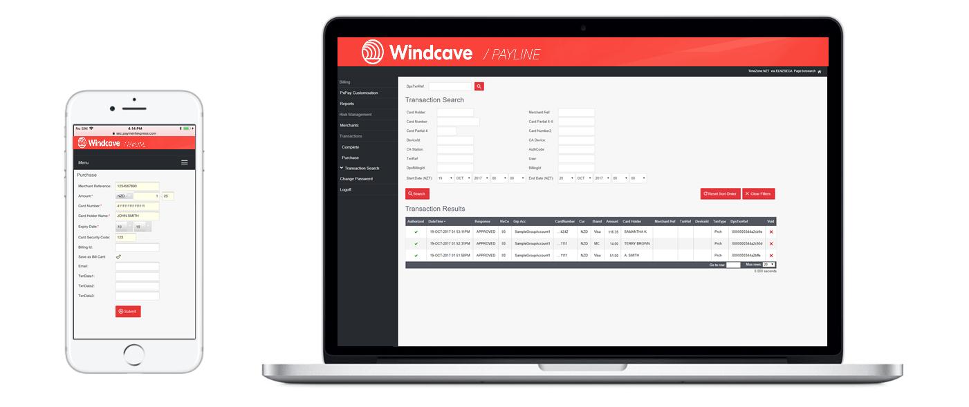 Windcave | Online payments | EFTPOS | Payment Gateway